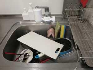 台所 洗い物