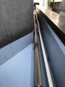 屋上防水パイプ